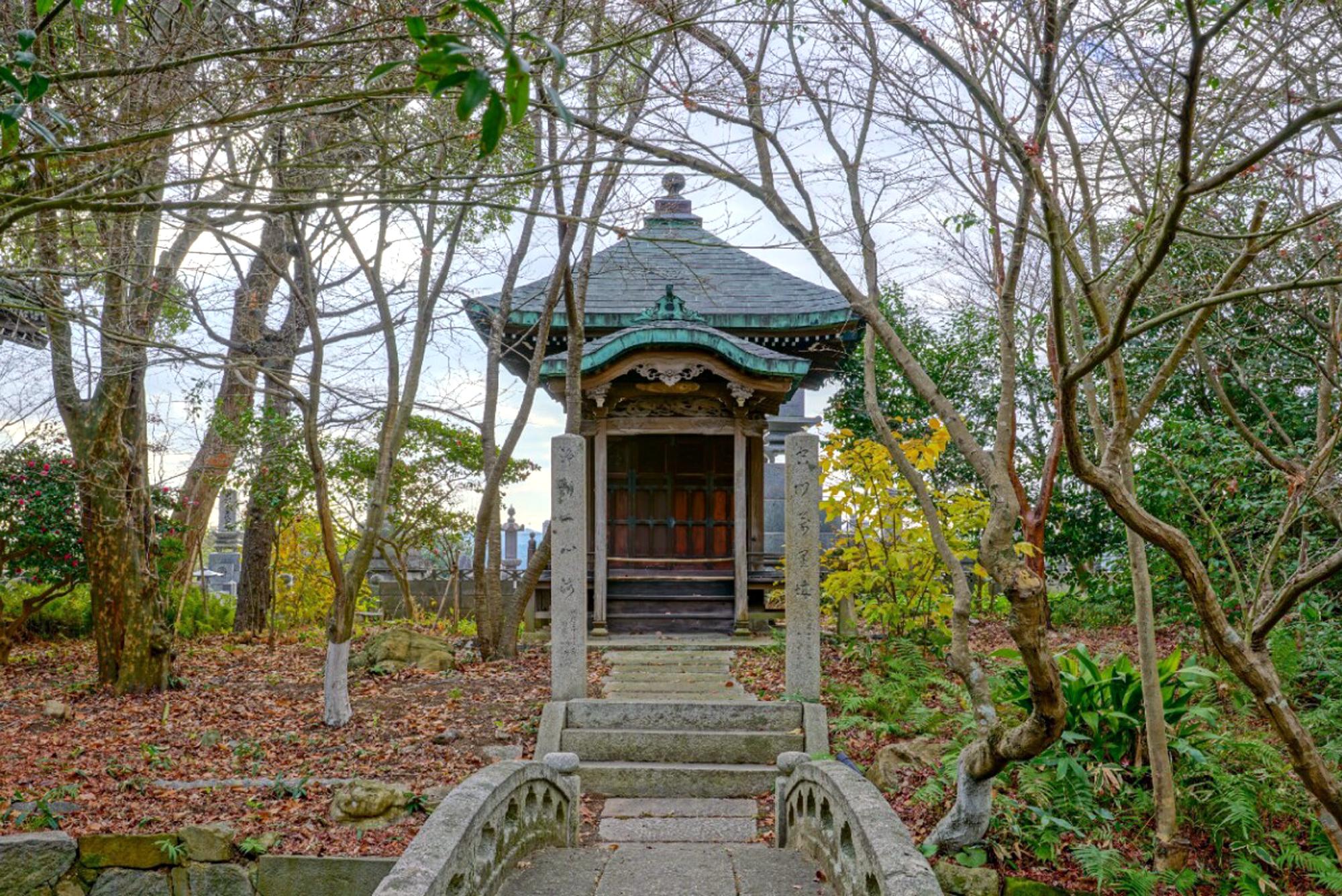 弘法大師堂の風景